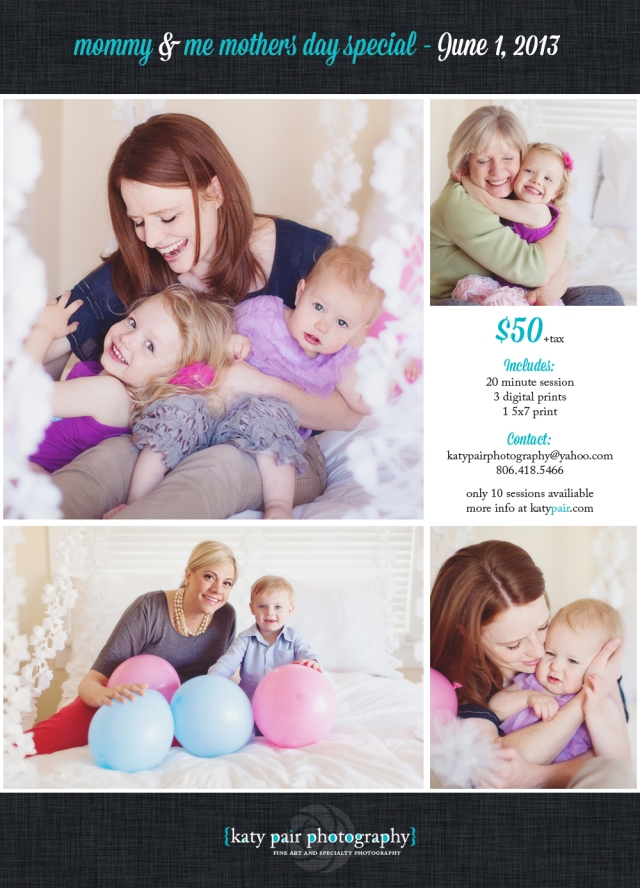 Mommy & Me Mothers Day Special | Katy Pair Photography ...