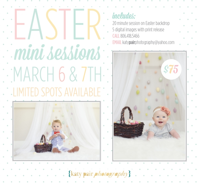 Easter mini 2015